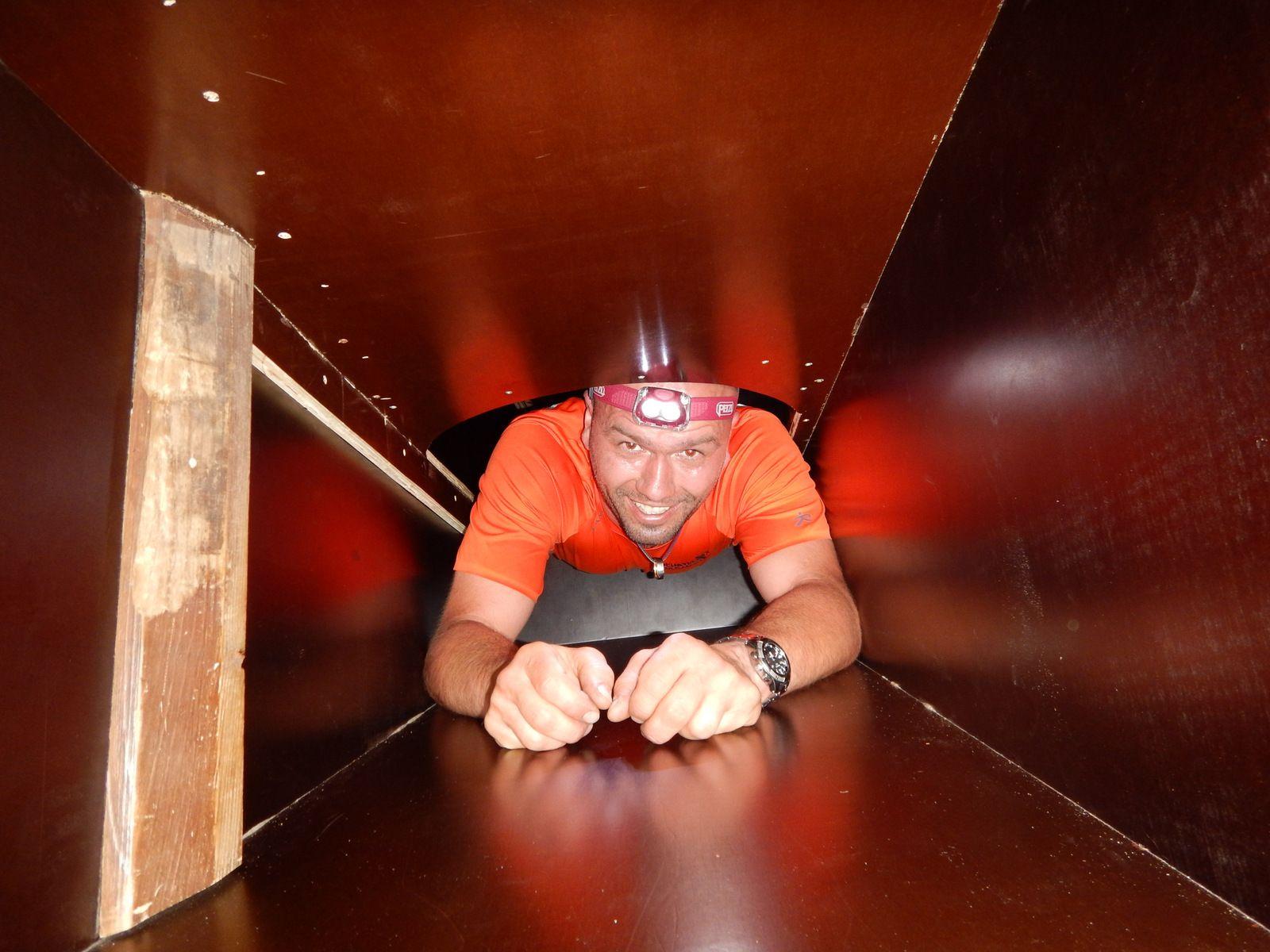 Spéléo Box de 25 mètres de galerie entrée