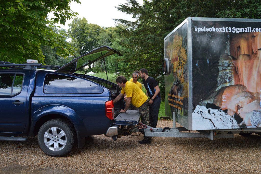 transport spéleo box